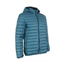 Páperová bunda Shelter Down GREY BLUE
