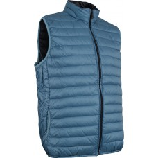 Páperová vesta Shelter Down GREY BLUE